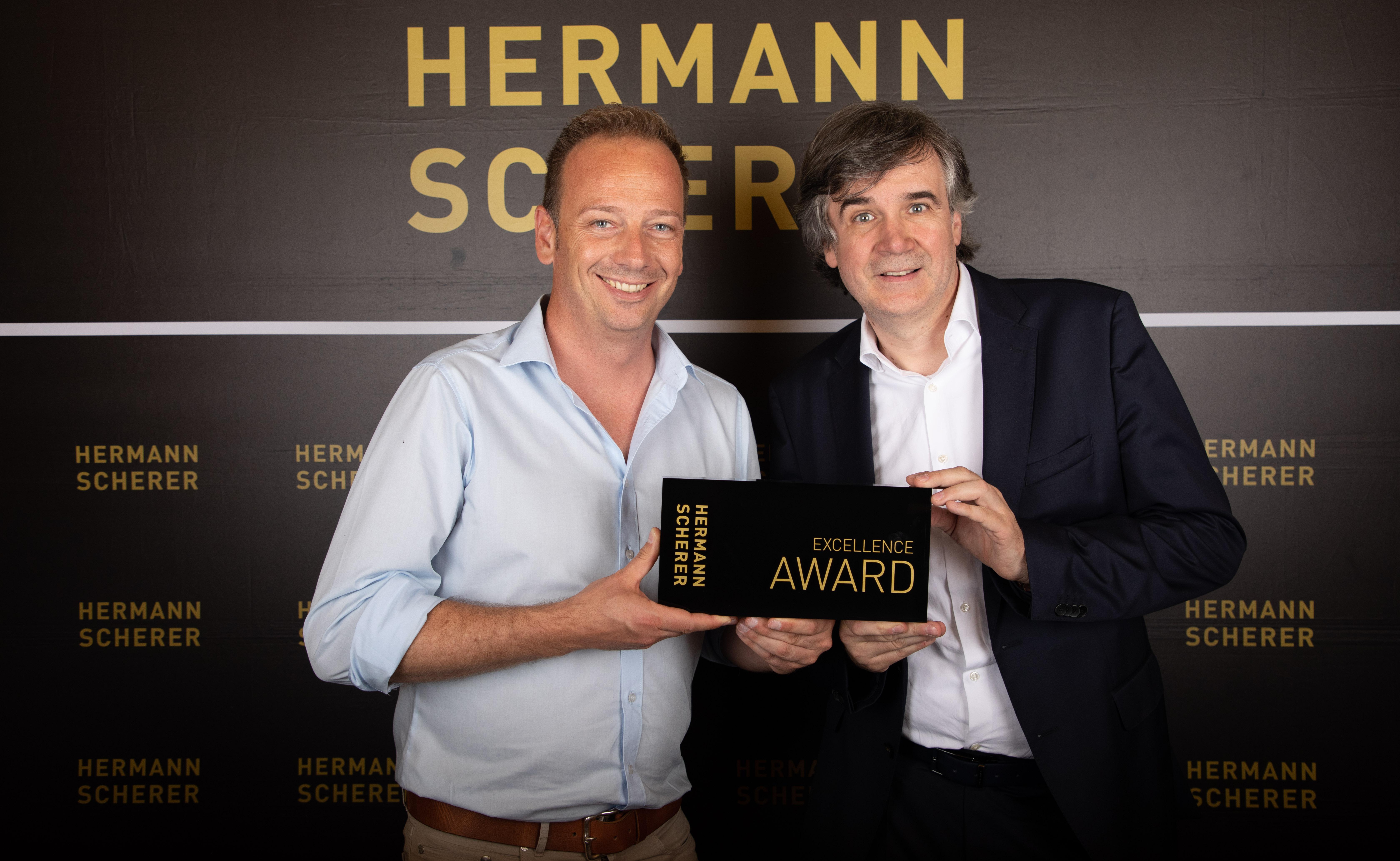 Olaf Schild, Herrmann Scherer, Excellence Award