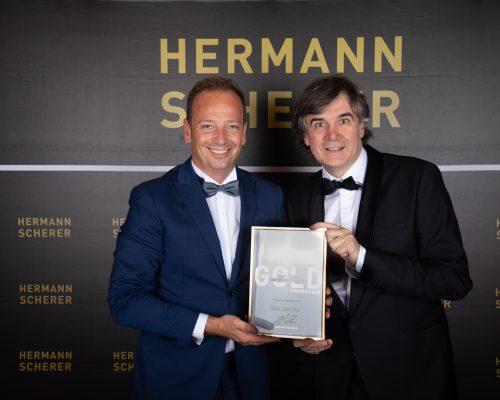 Hermann Scherer, Olaf Schild Auszeichnung zum Top-Speaker